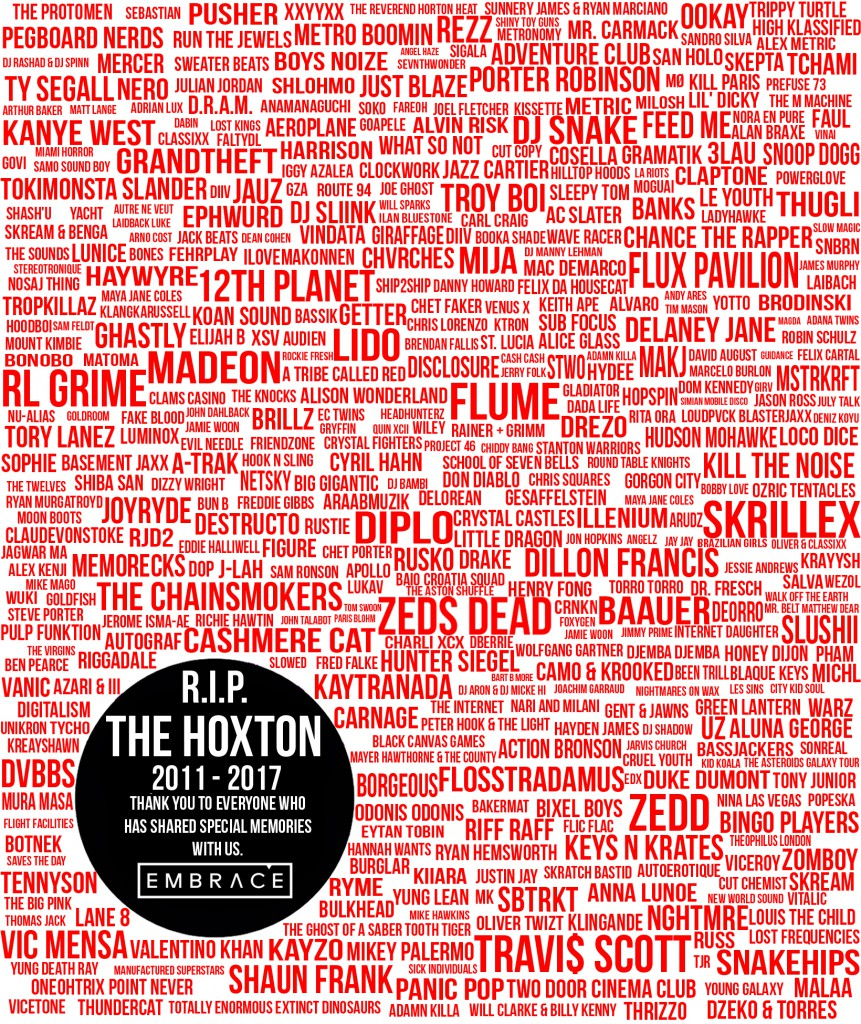 RIP The Hoxton